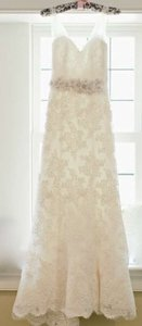 Anne Barge Feminine Lace Fitted Wedding Dress