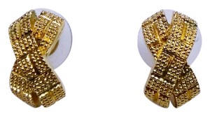 Dior CHRISTIAN DIOR Vintage Pierced Earrings