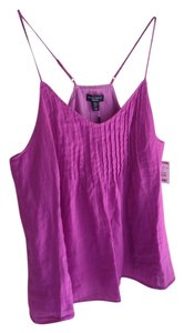 Willi Smith Never-worn Linen Adjustable Top Lilac
