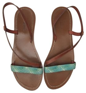Missoni Tan Teal Sandals