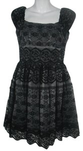 Anna Sui Collection Lace Coctail Dress