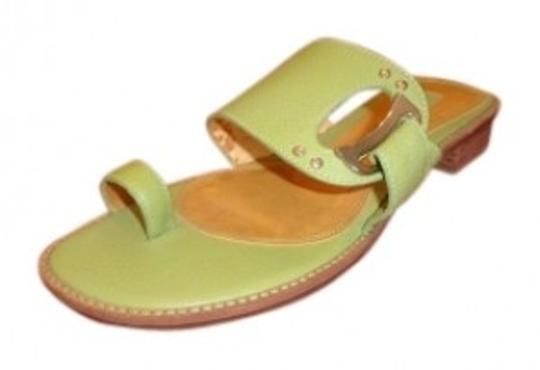Preload https://item3.tradesy.com/images/unisa-green-silver-buckle-sandals-size-us-6-regular-m-b-39232-0-0.jpg?width=440&height=440