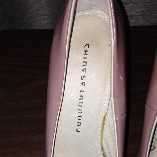 Chinese Laundry Taupe/nude Platforms