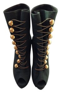 Christian Louboutin Green Boots