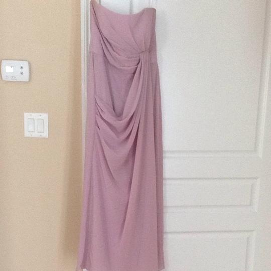 After Six Suede Rose Dress