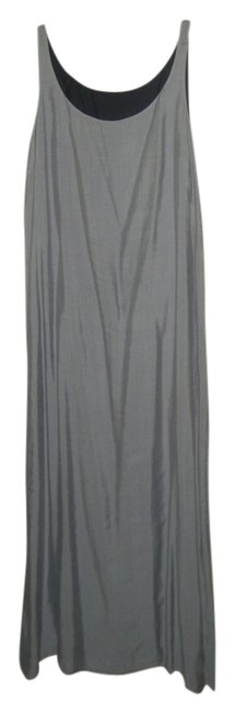 Preload https://item1.tradesy.com/images/grayblack-reversible-long-night-out-dress-size-6-s-3924385-0-0.jpg?width=400&height=650