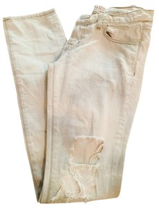 J Brand Distressed Bohemian Edgy Skinny Jeans-Distressed