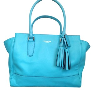 Coach Tote in Teal