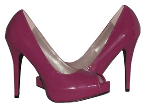 Qupid Fushsia Platforms