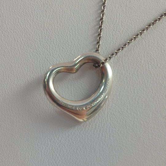 Tiffany & Co. Tiffany & Co. Sterling Silver Open Heart Necklace