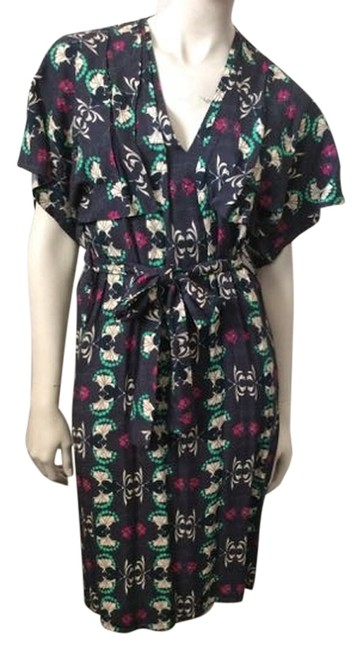 Paul & Joe Multicolor Hermion Mid-length Short Casual Dress Size 2 (XS) Paul & Joe Multicolor Hermion Mid-length Short Casual Dress Size 2 (XS) Image 1