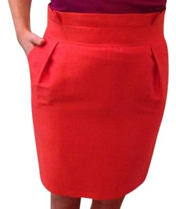 Reiss Skirt Red