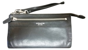 Coach Coach continental check book wristlet wallet