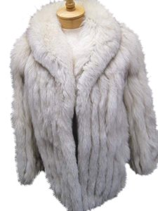 Other Blue Fox Fox Jacket Fur Real Fur Coat