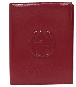 Gucci Gucci Soho Fuschia Pink Patent Leather Standing iPad Case