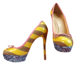 Christian Louboutin Multi-color Pumps