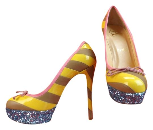 Preload https://img-static.tradesy.com/item/3926104/christian-louboutin-multicolor-foraine-140-glitter-patent-leather-striped-platform-55-pumps-size-eu-0-0-540-540.jpg