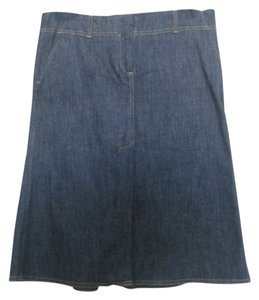 Theory Skirt Denim blue (dark)