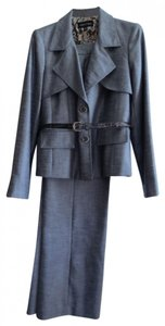 Isabel & Nina Isabel & Nina gray belted pants suit