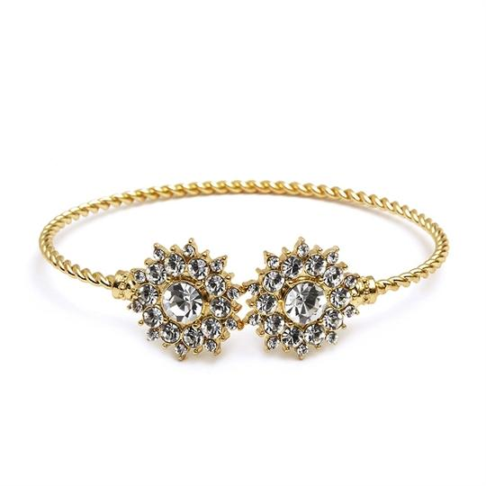 Preload https://item2.tradesy.com/images/mariell-gold-crystal-and-sunburst-cuff-for-and-proms-4297b-cr-bracelet-3926806-0-0.jpg?width=440&height=440