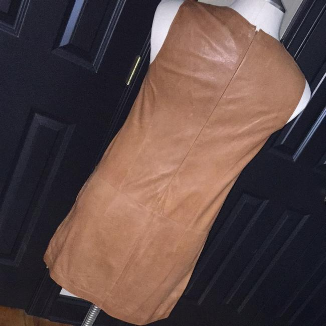 Vince short dress Camel on Tradesy