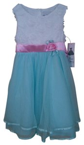 short dress Aqua Pink on Tradesy