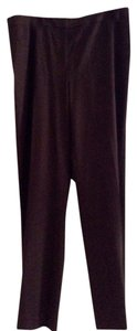 Lafayette 148 New York Trouser Pants Brown Wool