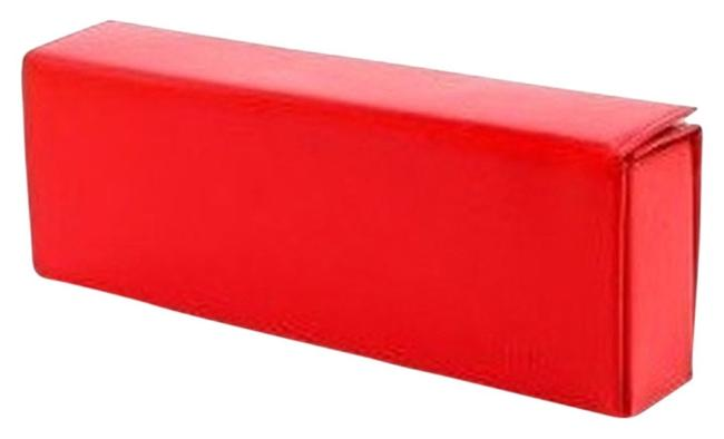 Item - Vitreo Red Leather & Calfskin Clutch