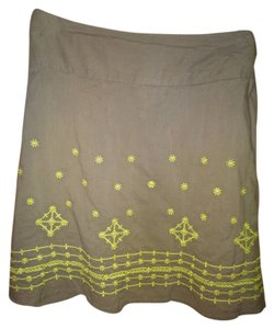 prAna Skirt Green