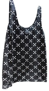 Divided by H&M White Hm Top Black