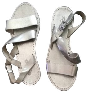 Madewell Silver Grey Sandals