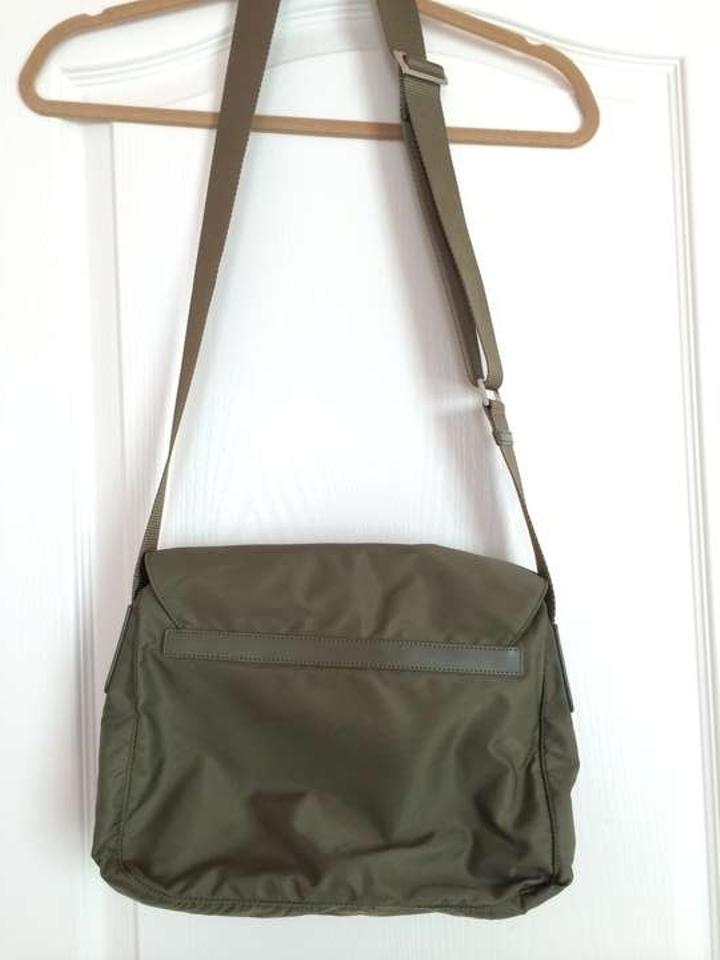 565c01b72f36 Prada Army Green Nylon Cross Body Bag - Tradesy