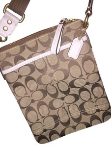 Coach Monogram Classic Cross Body Bag
