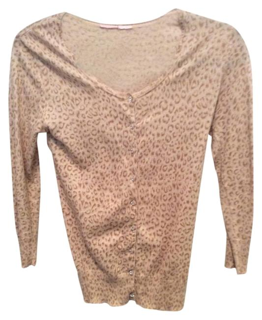Preload https://img-static.tradesy.com/item/3929014/leopard-cardigan-with-crystal-buttons-sweaterpullover-size-0-xs-0-0-650-650.jpg