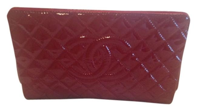 Item - Red Patent Leather Clutch