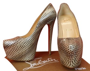 Christian Louboutin Ayers Natural Stone Pumps