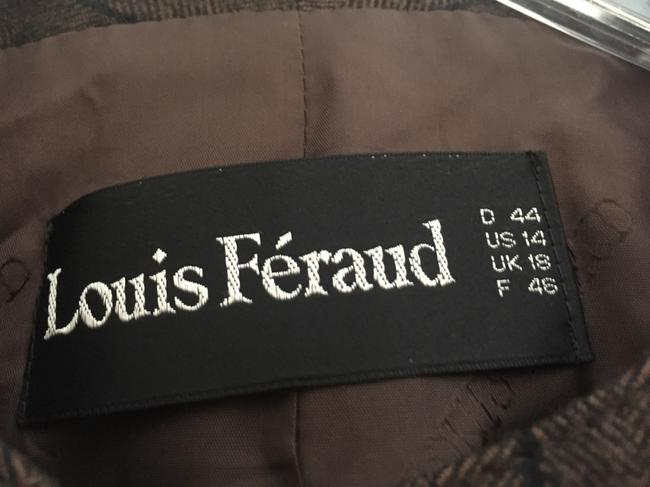 Louis Feraud Brown with Black Stripes Jacket