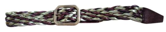 Melamed Melamed Braided Belt