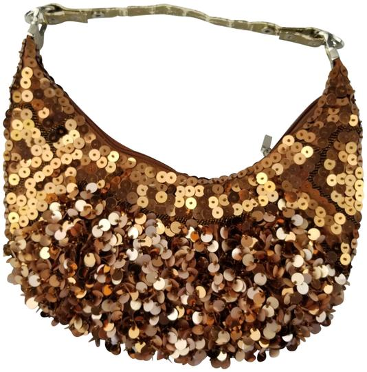 Preload https://item5.tradesy.com/images/nicole-lee-sequin-crescent-copper-satin-shoulder-bag-393319-0-3.jpg?width=440&height=440
