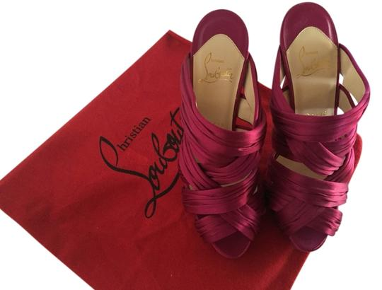 Christian Louboutin Pink Sandals
