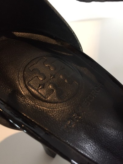 Tory Burch Platinum, Black and Grey Sandals Image 3