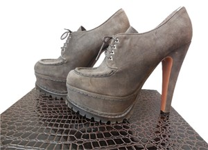 ALAA Designer Brown Platforms