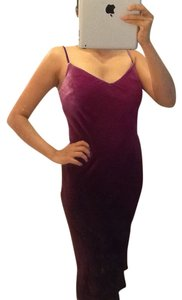 Velvet Formal Holiday Pink Dress