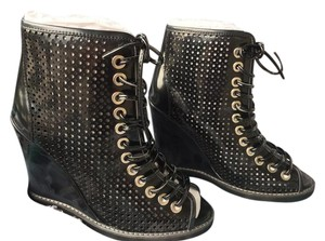Jeffrey Campbell Sz 8 Black Patent Adelicia Price Lowered $30 Boots