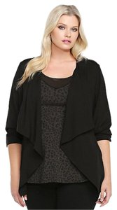 Torrid Open-front 1x 14/16 Black Jacket