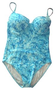 One Piece Swimsuit Aqua New with tags