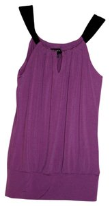 A. Byer Top Purple/Black