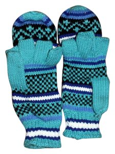 Christie Brooks Fingerless knitted gloves