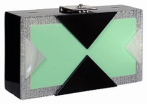 Rafe Mint/multi Clutch