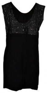American Apparel Glitter Mini Sexy Solid Dress